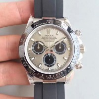 Replica Rolex Daytona Cosmograph 116519LN Stainless Steel Silver Dial