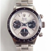 Replica Rolex Daytona Cosmograph Paul Newman 6241 Stainless Steel Silver Dial
