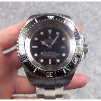 Replica Rolex Deepsea Challenge James Cameron Stainless Steel Black Dial