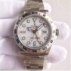 Replica Rolex Explorer 216570 Stainless Steel White Dial