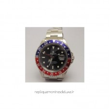 Replica Rolex GMT Master 16700 Stainless Steel Black Dial
