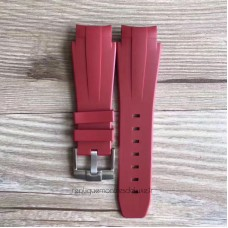 Rolex Red Rubber B Strap for Deepsea