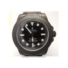 Réplique montre Submariner 114060 Pro Hunter PVD cadran noir