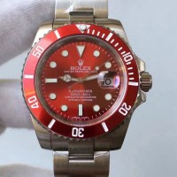 Replica Rolex Submariner Date 116610LN Stainless Steel Red Dial