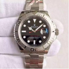 Replica Rolex Yacht-Master 40 116622 Stainless Steel Black Dial
