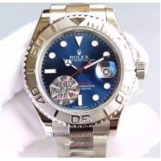 Replica Rolex Yacht-Master 40 116622 Stainless Steel Blue Dial
