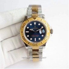Replica Rolex Yacht-Master 40 116622 Stainless Steel & Yellow Gold Blue Dial