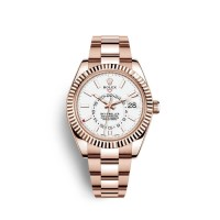 Réplique Montre  Rolex Sky-Dweller Everose 18 carats or M326935-0005