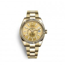Replica Watch Rolex Sky-Dweller 18 carat yellow gold M326938-0003