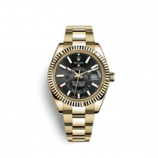 Replica Watch Replica Rolex Sky-Dweller 18 carat yellow gold M326938-0004