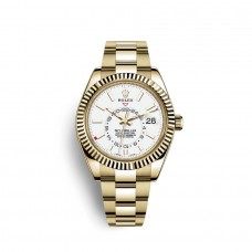 Replica Watch Rolex Sky-Dweller 18 carat yellow gold M326938-0005
