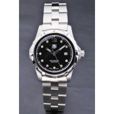 Tag Heuer Aquaracer Black Dial Diamond Ladies Watch