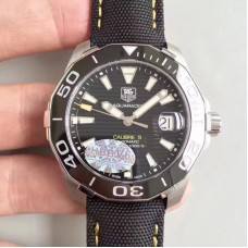 Replica Tag Heuer Aquaracer Calibre 5 WAY211A.FC6362 Stainless Steel Black Dial