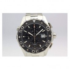 Replica Tag Heuer Aquaracer Chronograph 500M Calibre 16 Stainless Steel Black Dial Calibre 16