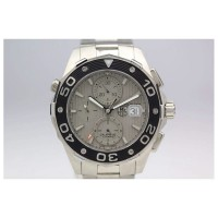 Réplique Tag Heuer Aquaracer Chronograph 500M Calibre 16 Stainless Steel Gray Dial Calibre 16