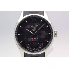Replica Tag Heuer Carrera Calibre 1 Stainless Steel Black Dial Calibre 1