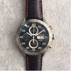 Replica Tag Heuer Carrera Calibre 16 CV2A1 Stainless Steel Carbon Fiber Dial Calibre 16