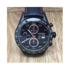 Replica Tag Heuer Carrera Calibre 1887 CAR2A80.FC6237 PVD Black Dial